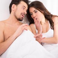penis, seks, u krevetu, par, shutterstock