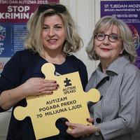 prof. Jasmina Frey Skrinjar i Sandra Kolak