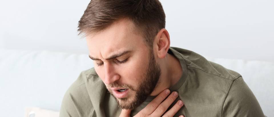 Astma ilustracija