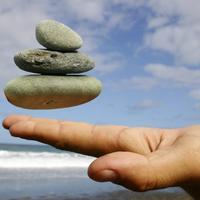 mudrost, plaza, kamencici, zen, mir