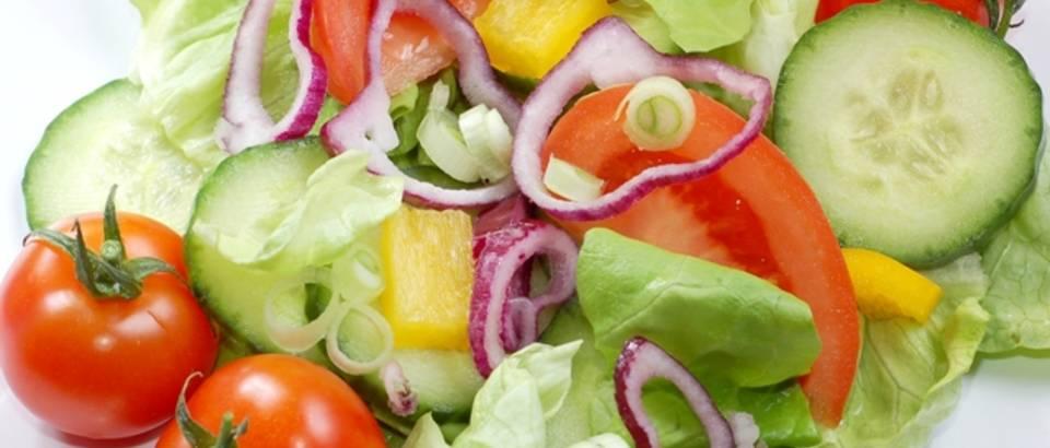 salata, rajcice, krastavci, paprika, povrce