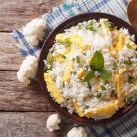 rizoto, riza od karfiola,Shutterstock 376592137