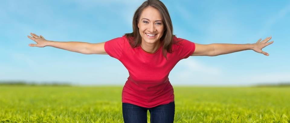 zena, priroda, sreca, Shutterstock 405443338