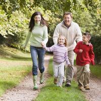 Obitelj, hodanje, setnja