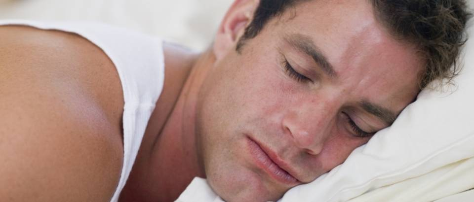 Muskarac, san, krevet, spavanje