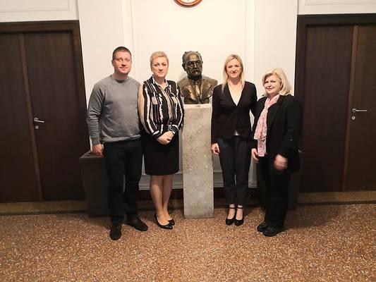 Doc. dr. sc. Milan Milošević, prim. dr. sc. Marija Bubaš, doc. dr. sc. Josipa Nakić, prof. dr. sc. Mirjana Kujundžić Tiljak