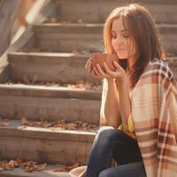 djevojka, kava, Shutterstock 321757289