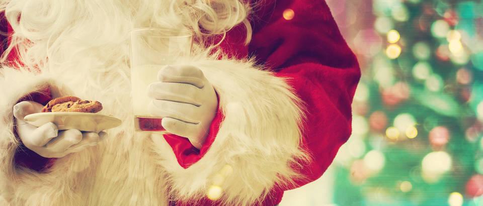 Djed božićnjak djed mraz božić keksi shutterstock 334460339
