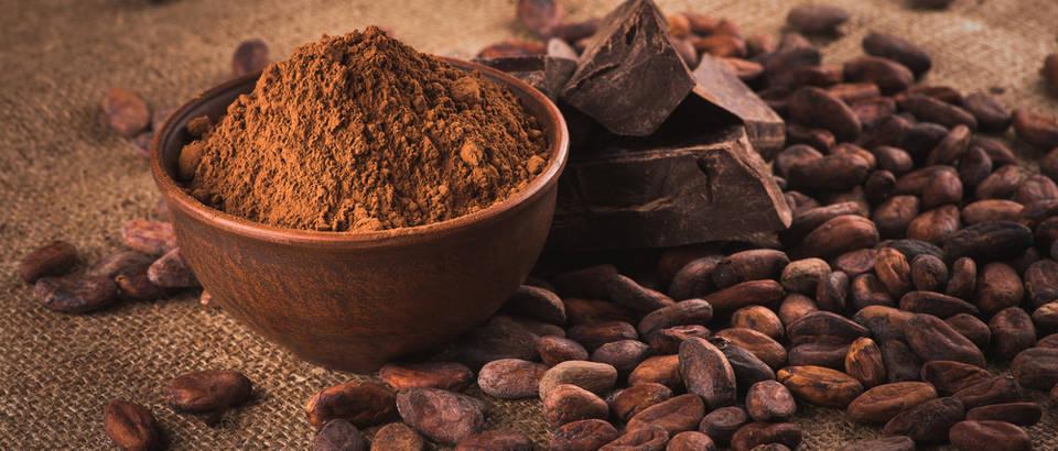 Kakao cijela zrna mljevena zrna