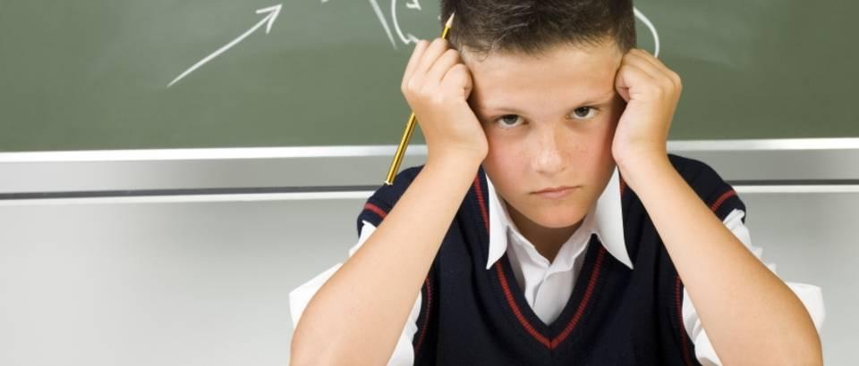 Dijete, mrzovolljno, učenje