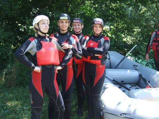 rafting, una, ordinacija