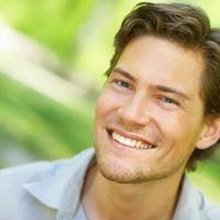Muskarac, lijep, osmijeh, pozitiva, sreca