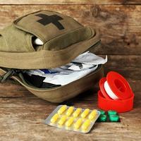 Putna ljekarna ruksak prva pomoć lijek
