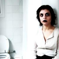 Vampir, zena, makeup