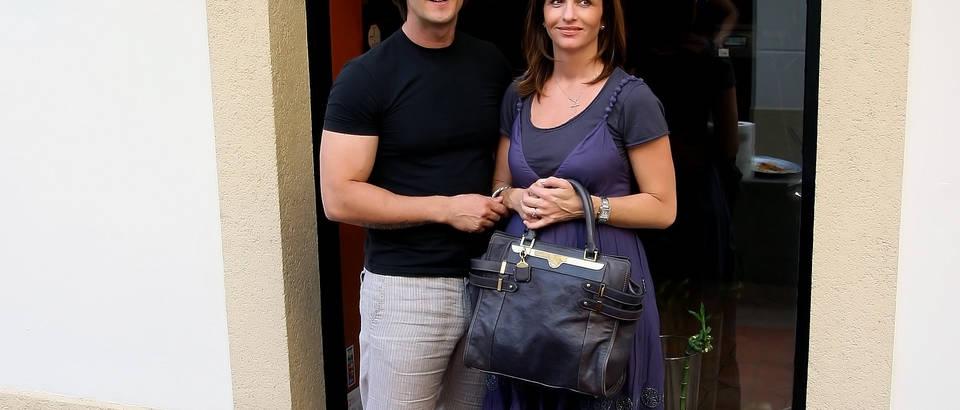 Kuca zelenog caja, Tanja i Goran
