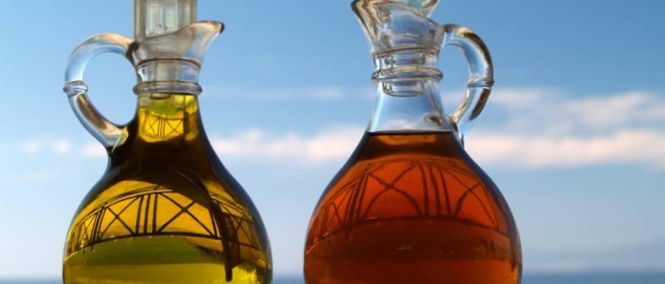 ulje, ocat, maslinovo ulje, jabucni ocat