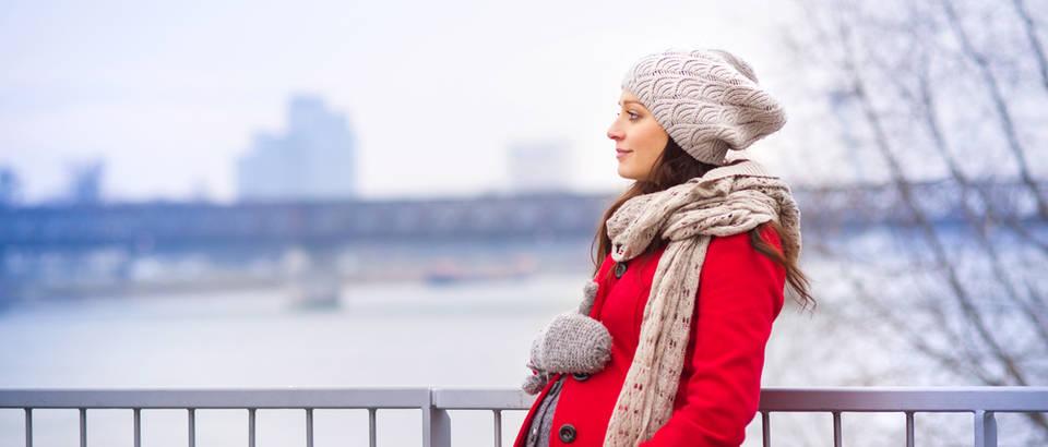 trudnica, zima, shutterstock