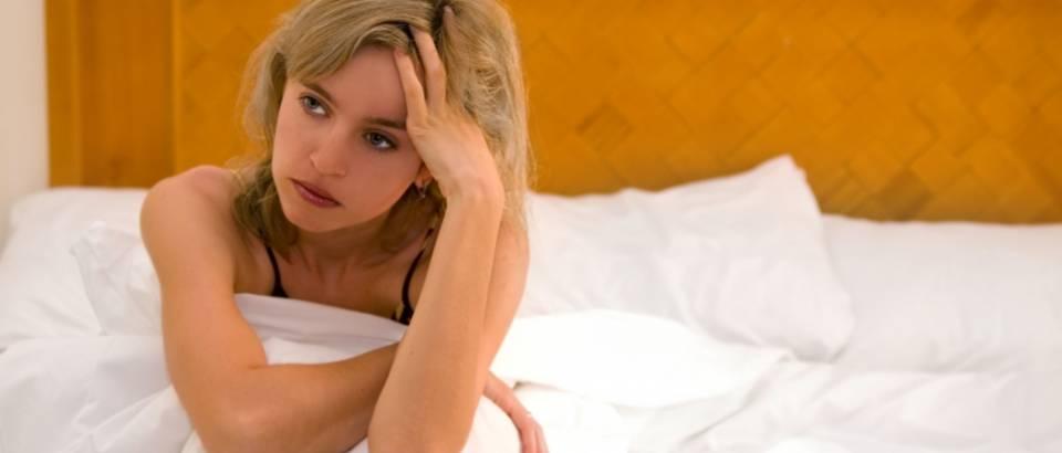 Zena, tuga, problemi u krevetu