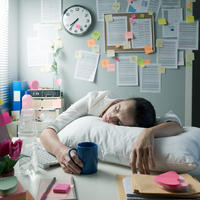 umoran mlada djevojka, Shutterstock 225404101