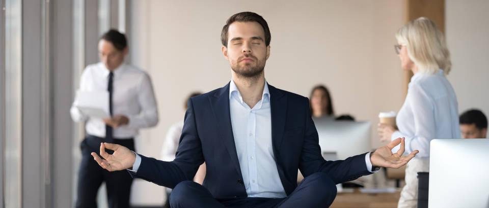 mir, ured, meditacija