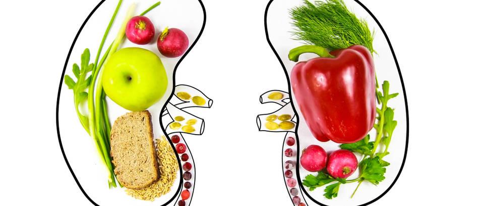 bubrezi, hrana za bubrege