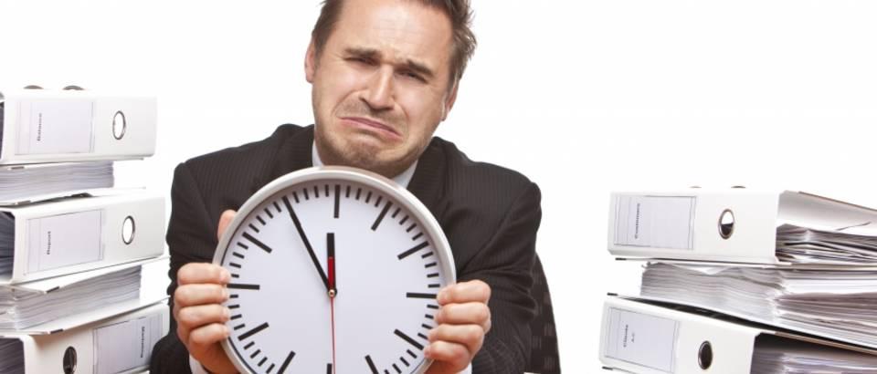 posao, ured, stres, sat, depresija