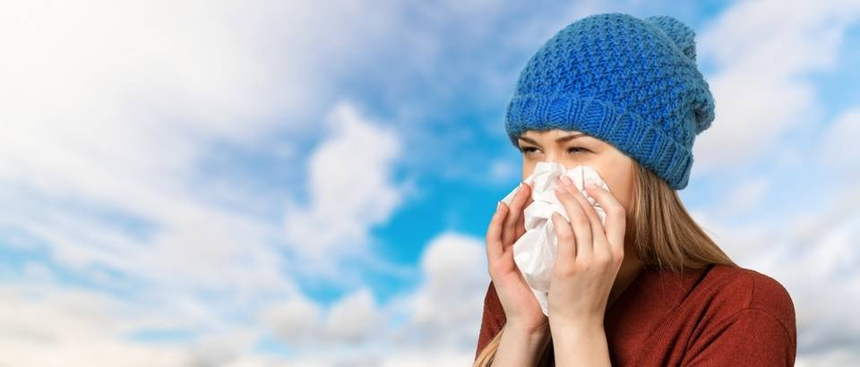prehlada, gripa  Shutterstock 324742673