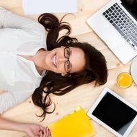 žena na poslu