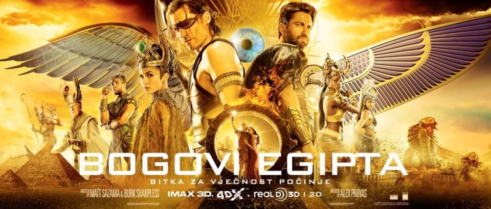 Gods Of Egypt trailer slika