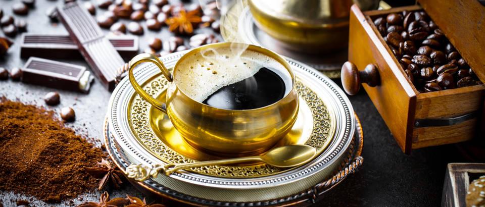 turska kava, crna kava