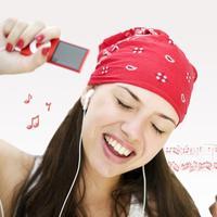 slusanje glazbe opustanje, pjevanje, mp3 player, slusalice