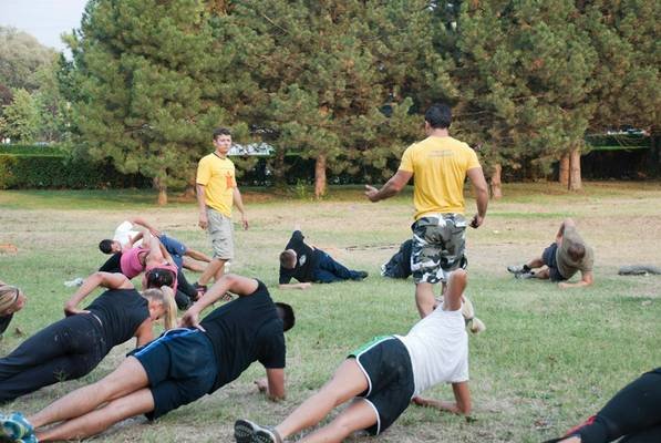 Total Body Coach Boot Camp