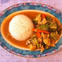 Piletina i povrće s curryjem