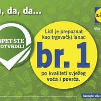 Lidl Hrvatska Vi ste potvrdili Svjezina