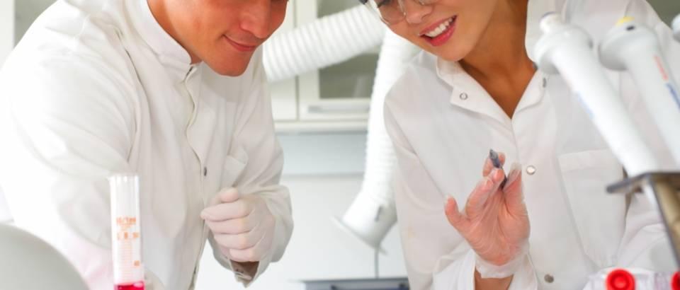 laboratorij, testiranje, cjepivo, mikroskop, znanstvenik