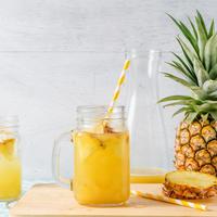 ananas, sok, sok od ananasa, voće, zdravo